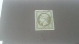 LOT 259621 TIMBRE DE FRANCE OBLITERE N�11 VALEUR 90 EUROS DEPART A 1 €