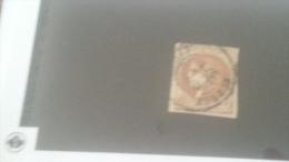 LOT 259640 TIMBRE DE FRANCE OBLITERE N�40Bb MARRON RARE VALEUR 1100 EUROS  DEPART A 1 €