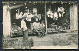 Native Boutique  Ceylon Fruits Bananas RP Plate & Co Postcard - Sri Lanka (Ceylon)