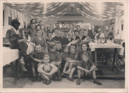 Socialisme - Photographie - Banquet De La Jeune Garde De Strombeek - 12-9-1953  - 133X180mm - Organizations