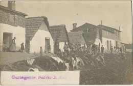 Real Photo Carcagente Barrio Gitano Gypsies Roms Gitans - Vari