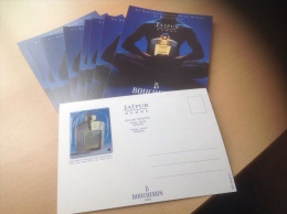 Boucheron - Jaïpur, 10 Cartes Postales Avec Patch - Perfume Cards