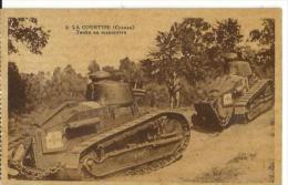 La Courtine, (creuse) Tanks En Manoeuvre - Guerre 1914-18