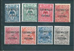 Timbres  De Wallis Et Futuna  N°1 A 17  Neufs * - Wallis Y Futuna