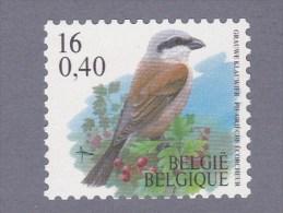 2000 Nr 2931** Rolzegel.Vogel:Grauwe Klauwier. - 1985-.. Birds (Buzin)
