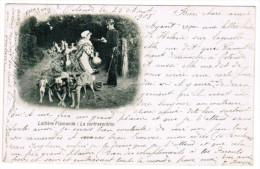 Laitières Flamandes, La Contravention (pk20257) - Paysans