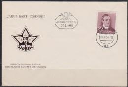 DDR FDC 1956 Nr.535 100.Geb. Jakub Bart Cisinski (d 2796 ) - DDR