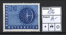 Österreich - 1956 - Michel Nr. 1026 - Hoher KW!!! - 1945-60 Neufs