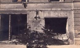 """0 - VARSOVIE - """"Salut Fusillés Sur Le Mur En Février 1944""""  - Photo Amateur M. WOLAGIEWICZ - Pologne"""