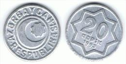 AZERBAYAN 20 COPEK 1993 EBC - Azerbaïjan