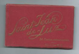 64 Pyrénées Atlantiques SAINT JEAN De LUZ Carnet De 24 Cartes Cpa Détachables (Editions MD M-D Phototypie MARCEL DELBOY) - Saint Jean De Luz