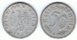 ALEMANIA REICH 50 PENNIG A 1940 - [ 4] 1933-1945 : Tercer Reich