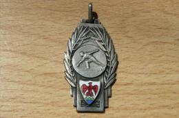 Rare Médaille F.S.G.T - Championnat De France Nice 1938 - Boules - Jeu Provençal - Pétanque - Bowls - Pétanque