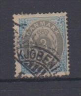 Danemark  //  N 22 B  //  3 Ore Bleu Et Gris  //  Oblitéré  //  Côte 15 € - 1864-04 (Christian IX)