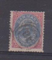 Danemark  //  N 23 A  //  5 Ore Rose Et Bleu   //  Oblitéré  //  Côte 75 € - 1864-04 (Christian IX)