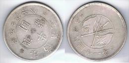 CHINA HALF DOLLAR A IDENTIFICAR PLATA SILVER - China
