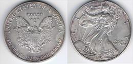 EE.UU USA  1999  DOLLAR ONZA PLARA SILVER - EDICIONES FEDERALES