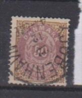 Danemark  //  N 28B  //  50 Ore Bistre Et Lilas //   Oblitéré  //  Côte 40 € - Gebraucht