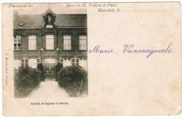 Moorslede, Pensionnat Des Soeurs De St Vincent De Paul, Jardin Et Façade D'entrée (pk20282) - Moorslede