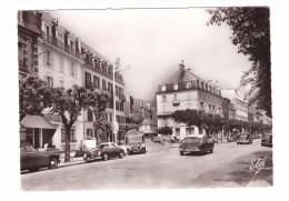 63 La Bourboule Hotel De Russie Boulevard Clemenceau Citroen DS Carte RARE Edit Chatagneau N°11847carte Non Voyagée - La Bourboule