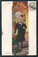 M. Combes M-T.M Depose Paris Moloch High LifeTailor Postcard / French Satrical - Humour