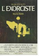 """E 124 -  WILLIAM FRIEDKIN  """" L'EXORCISTE """" ELLEN BURSTYN / LEE J. COBB / LINDA BLAIR - Posters Op Kaarten"""