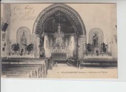 INDRE - VICQ EXEMPLET - Intérieur De L'Eglise - France