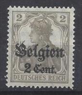 Germany (Belgien) 1916-18 (*) MH  Mi.10 - Occupation 1914-18