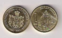 Serbia 1 Dinar 2012. BU / UNC - Serbie