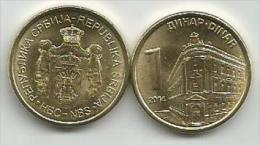 Serbia 1 Dinar 2014. UNC/BU - Serbie