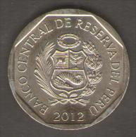 PERU 1 NUEVO SOL 2012 - Perú
