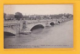TOURS (37) - CATASTROPHES - INONDATIONS-CRUES DE LA LOIRE 15 ET 21,22 OCT 1907-TOURS LA LOIRE AU PONT SAINT PIERRE Etc.. - Tours