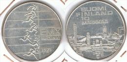 FINLANDIA 10 MARKA MARKKAA 1971 PLATA SILVER UNC SC - Finlandia