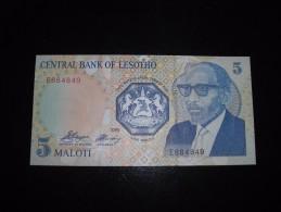 Lesotho UNC,5,10,20 - Lesotho