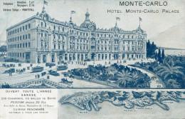 MONACO(HOTEL MONTE CARLO PALACE) - Alberghi