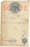 Ancienne Facture Fromage  Roquefort  Societe  Surchoix  19 08 1940 - Cheese