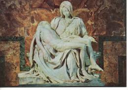 CP - PHOTO - CITTA DEL VATICANO - LA PIETA DI MICHELANGELO - 1887 - - Bellas Artes