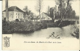 Han - Sur - Lesse -- Le  Moulin  Et  Le  Pont  De  La  Lesse .  (2 Scans) - Rochefort