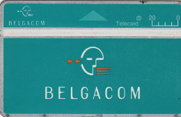 BELGIUM - Belgacom telecard 200 BEF, CN : 401C, used