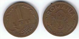 RUMANIA 1 LEU 1992 EBC - Rumania