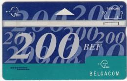 BELGIUM - Belgacom telecard 200 BEF, CN : 642C, used