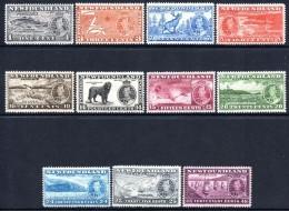 Newfoundland 1937 KGVI Coronation - 2nd Issue - Set HM - 1908-1947