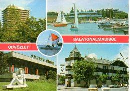 HONGRIE. Carte Postale Ayant Circulé. Balaton. - Hongrie