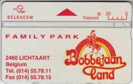 BELGIUM - Family Park Bobbejaanland, CN : 545H, Tirage 60000, Used - Belgium