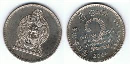 SRI LANKA CEILAN 2 RUPIAS RUPEES 2004 SC - Sri Lanka