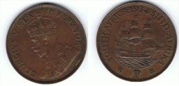SUDAFRICA SOUTH AFRICA PENNY GEORGIUS V 1934 EBC  X - Sudáfrica