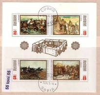Bulgaria / Bulgarie 1971 Historical Paintings S/S - Used/oblitere (O) - Gebraucht