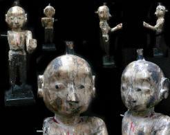 Belle Statue Cultuelle Soclée Poupée Des Cérémonies De DINGA GAVAR: ISAR (SHIVA)  / Old Isar (Shiva) Cultual Doll Statue - Art Asiatique