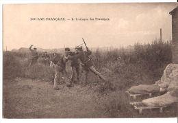DOUANE FRANCAISE- 2  L' Attaque Des Fraudeurs 1914  Militair Allemande Re 683 - Douane