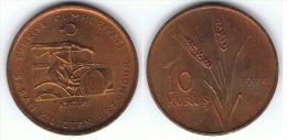 TURQUIA 10 KURUS 1974 SC - Turquia